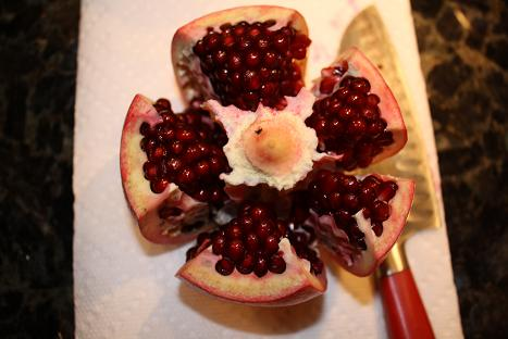 """Meet My New Friend, The Pomegranate!"""