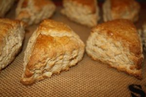 Oat and Maple Syrup Scones
