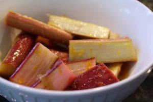 Roasted Vanilla Rhubarb