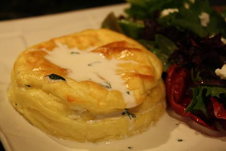 Twice-Baked Goat Cheese Soufflés
