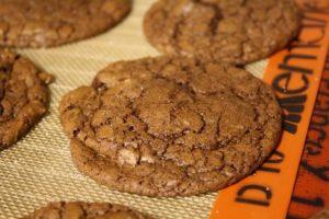 Chocolate Cookies with Sea Salt