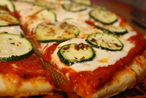 Zucchini-Roni Pizza!!