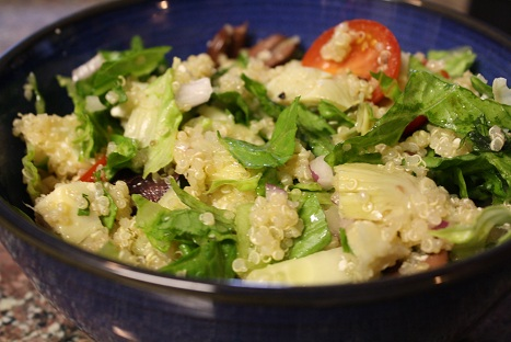 Learning to Love Salads – Part 7: Mediterranean Quinoa Salad