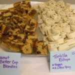 PB Blondies & Tortilla Roll-ups
