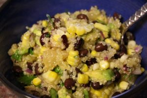 Black Bean, Quinoa & Citrus Salad