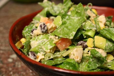 Southwest Chicken Chopped Salad