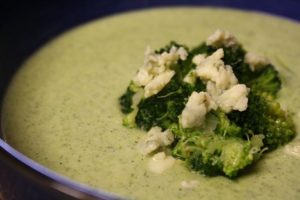 Broccoli Cheese Soup Becomes Fancy!