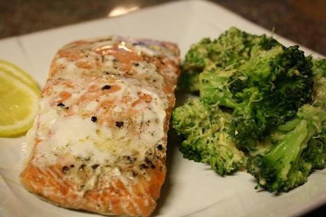 Salmon & Broccoli