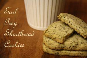 It's Tea Time – Part 2: Earl Grey Shortbread Cookies