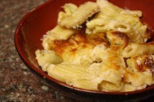 Baked Artichoke Chicken Pasta