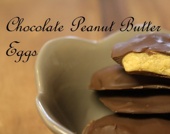 Woohoo it's Easter, which means Chocolate Peanut Butter Eggs Season!