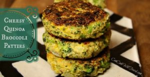 Well Hello Cheesy Quinoa and Broccoli Patties!
