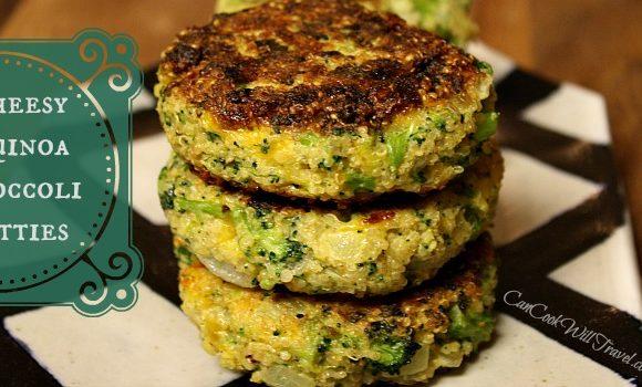 Well Hello Cheesy Quinoa and Broccoli Patties!