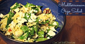 Learning to Love Salads – Part 10: Mediterranean Orzo Salad