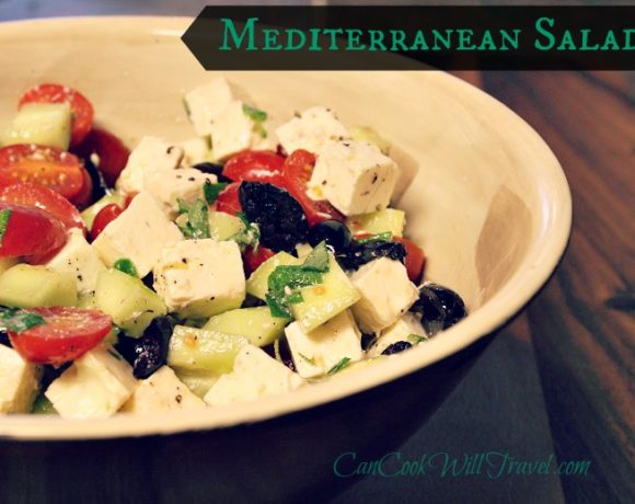 Learning to Love Salads – Part 13: Mediterranean Salad