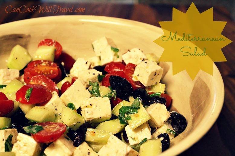 Mediterranean Salad Pic