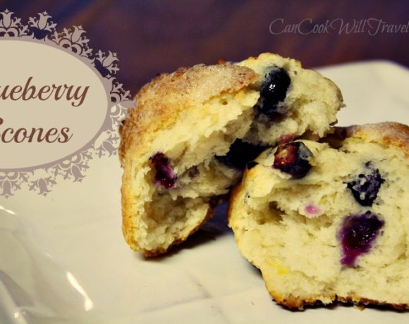 Blueberry Scones – Don't Mind if I Do!