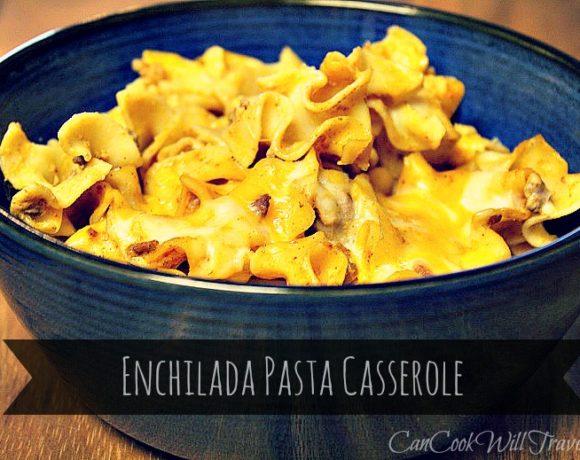 Hello Comfort Food: Enchilada Pasta Casserole