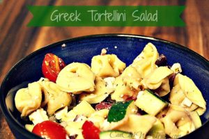 Learning to Love Salads – Part 14: Greek Tortellini Salad