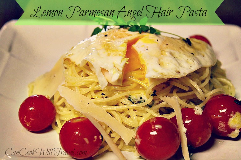 Lemon Parmesan Angel Hair