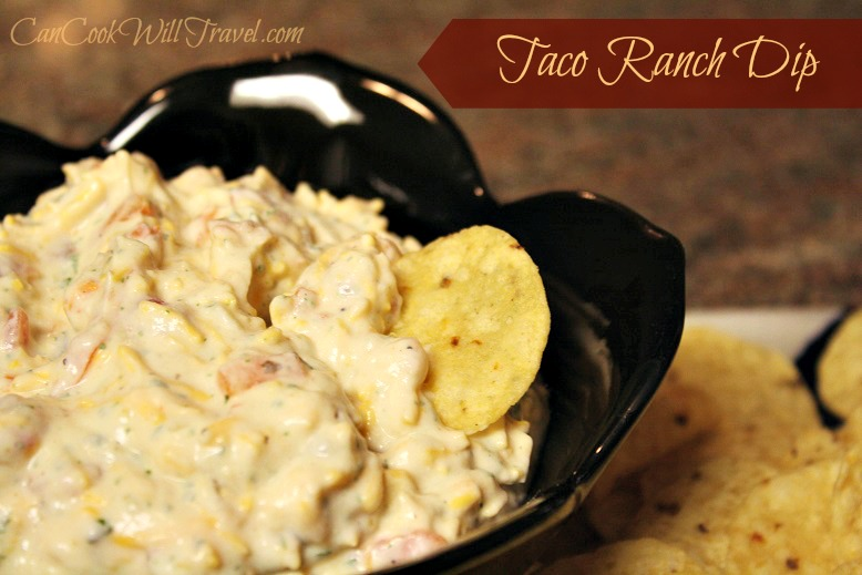 Taco Ranch Dip - Can Cook, Will Travel