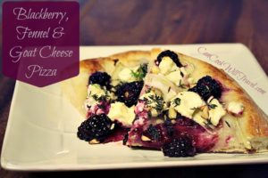 Blackberry Fennel Pizza