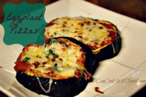 Making Pizza Healthier with Eggplant Pizza