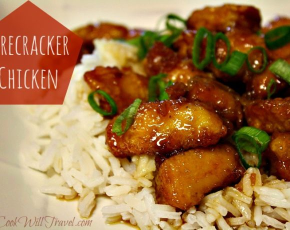Firecracker Chicken with a Side of Yum!