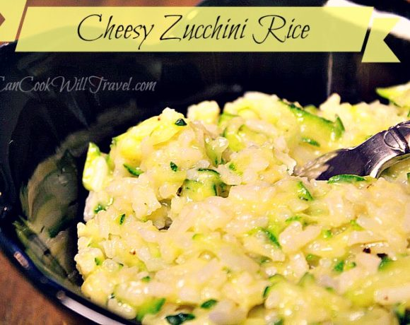 Cheesy Zucchini Rice Couldn't Be Easier!