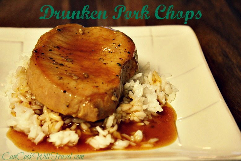 Drunken Pork Chops