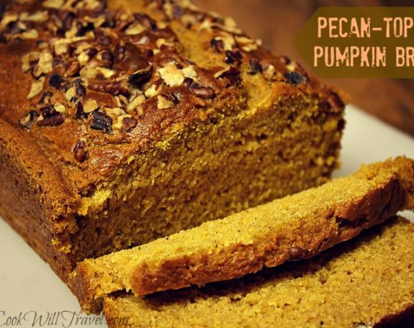 Pumpkin Bread Slimmed Down
