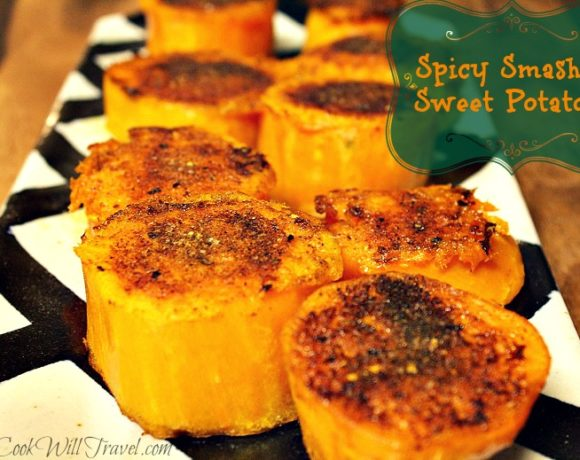 Smashed Sweet Potatoes Never Tasted So Good!