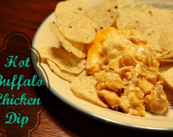Hot Buffalo Chicken Dip…It's Officially a Hit