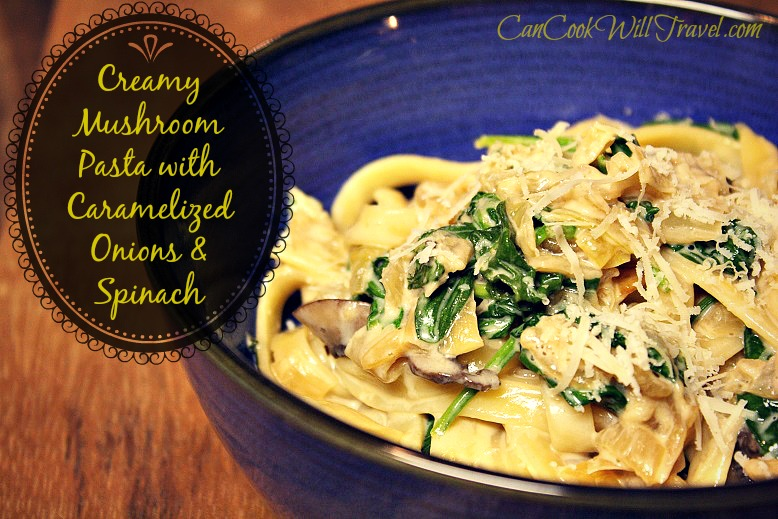 Creamy Pasta with Caramelized Onions