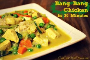 30 Minute Bang Bang Chicken
