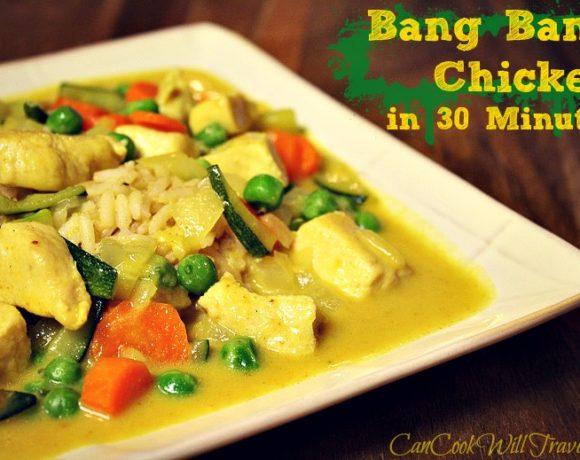 30 Minute Bang Bang Chicken