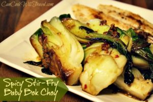Spicy Stir-Fry Baby Bok Choy Couldn't Be Easier