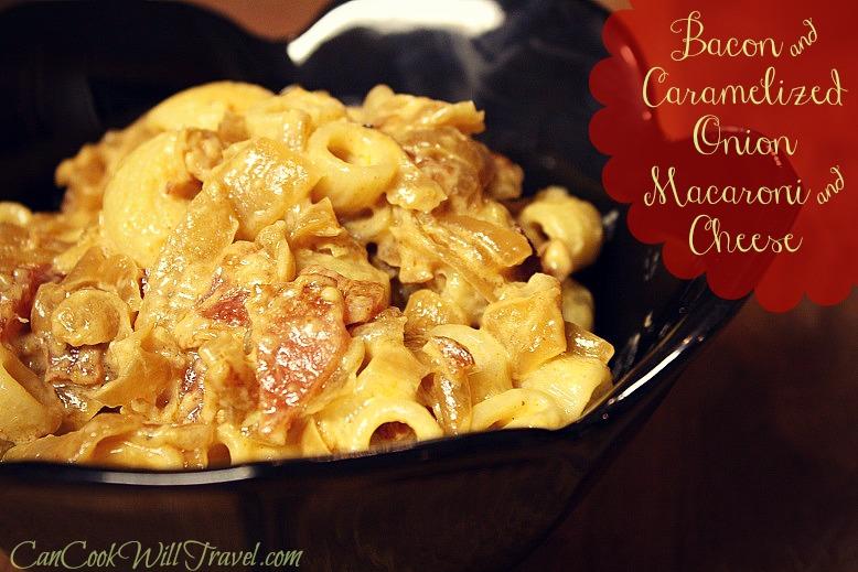 Bacon & Caramelized Onion Mac 'n Cheese