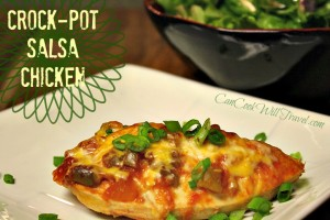 Crock-Pot Salsa Chicken Couldn't Be Easier!
