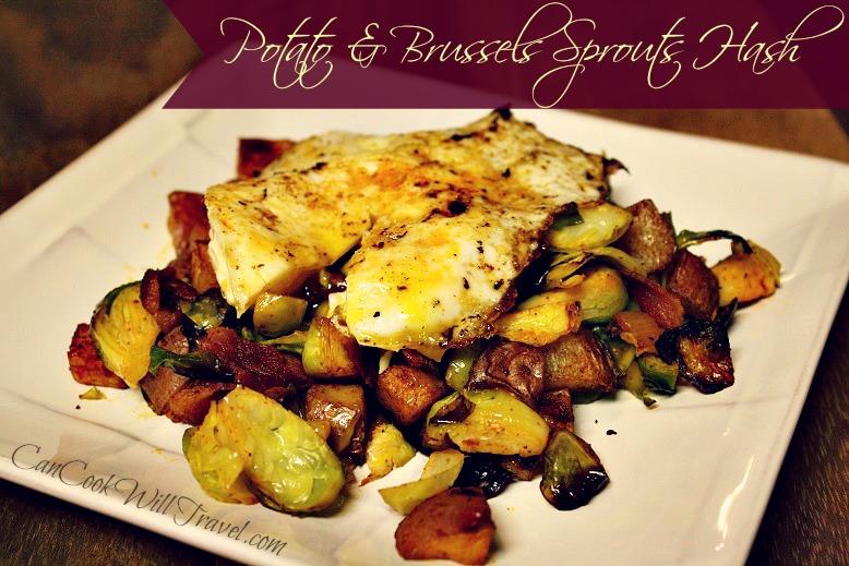 Potato & Brussels Sprouts Breakfast Hash