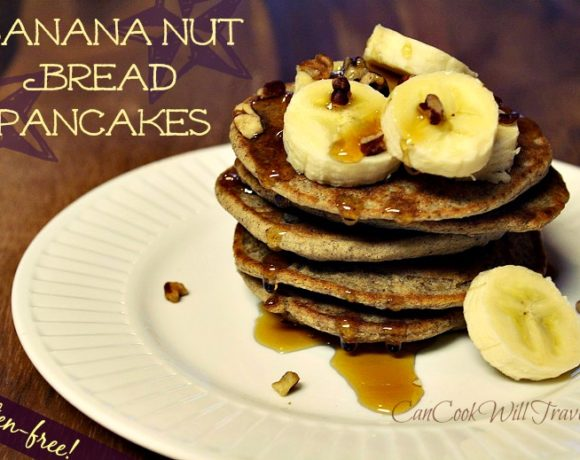 Gluten-Free Banana Nut Pancakes