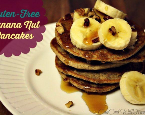 Pancakes for Everyone! Banana Nut Bread Pancakes