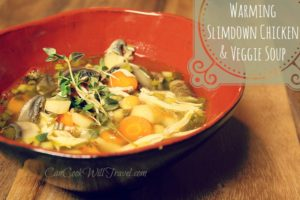 Warming Slimdown Chicken and Vegetable Soup
