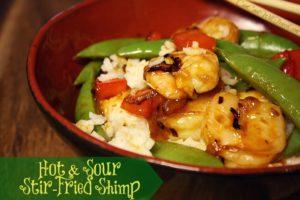 Who Loves Stir Fry?! Time for Hot and Sour Stir-Fried Shrimp!