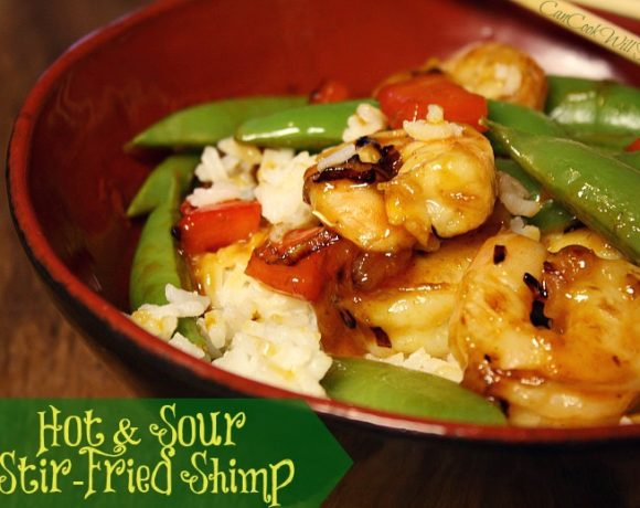 Who Loves Stir Fry?! Time for Hot and Sour Stir-Fried Shrimp!