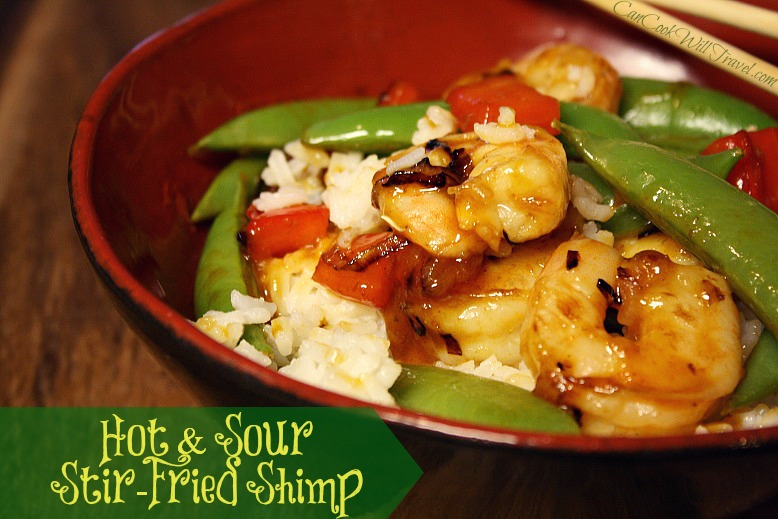 Hot & Sour Stir-Fried Shrimp