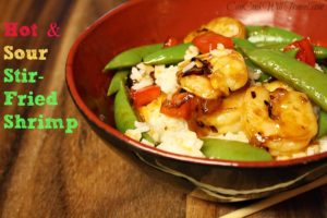 Stir-Fried Shrimp in Hot and Sour Sauce