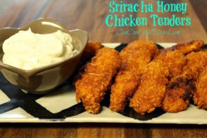 Sriracha Honey Chicken Tenders