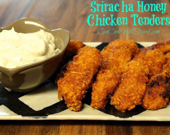 Sriracha Honey Chicken Tenders