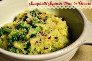 Spaghetti Squash is So Cool – Part 2: Spaghetti Squash Mac 'n Cheese